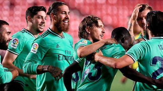 La novena en Granada (1-2) acerca al Madrid a la Liga: ya sólo falta una victoria