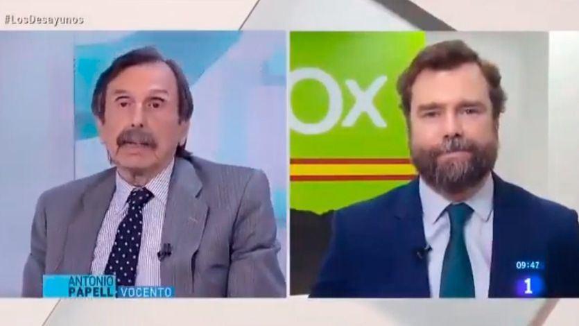 Antonio Papell e Iván Espinosa de los Monteros