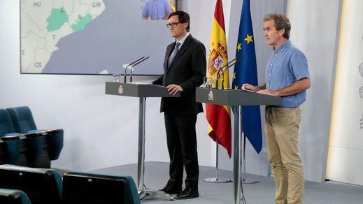 Sanidad registra 263 nuevos contagios, fundamentalmente, en Aragón y Cataluña