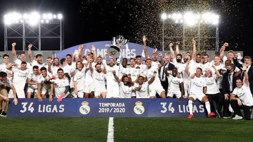 El Real Madrid, 10 de 10: gana su 34ª Liga mientras el Barça se hunde en el Camp Nou