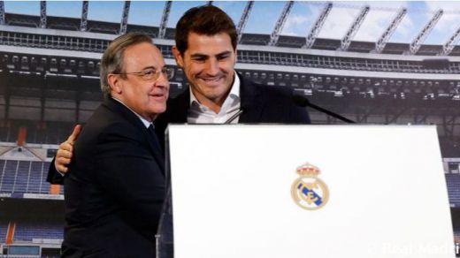 Iker Casillas parece dispuesto a regresar al Real Madrid como mano derecha de Florentino