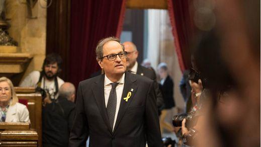 Torra estudia presentar una denuncia contra el rey emérito Juan Carlos I