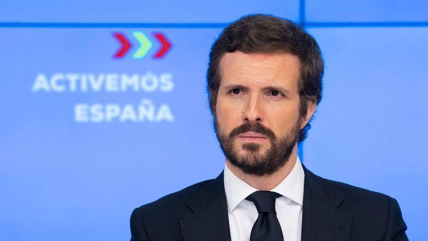 Twitter estalla contra Casado por su postura ante la negociación del fondo europeo