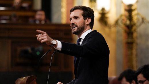 Acuerdo UE: Sánchez acusa a Casado de no aportar nada y éste responde hablando de un