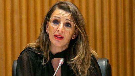 El violento escrache contra la ministra Yolanda Díaz en Toledo: