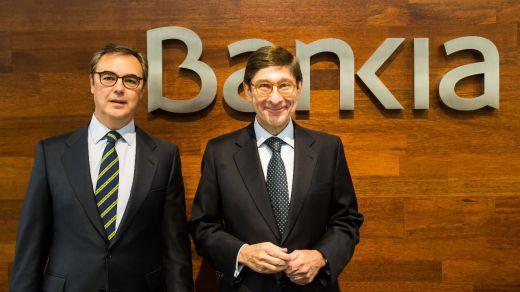 Bankia gana 142 millones en el primer semestre