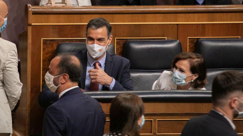 Sánchez promete 'recuperar el crecimiento' y 'crear empleo digno y estable' con el dinero del fondo europeo