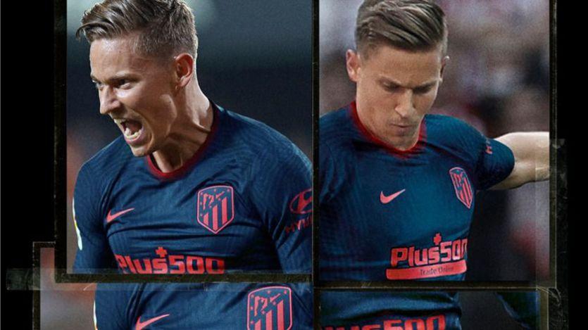 El Atlético presenta su nueva segunda equipación