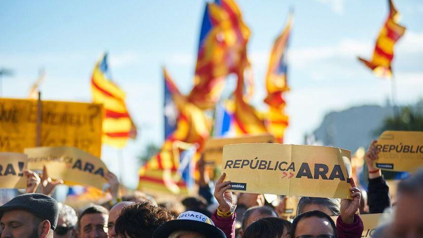 Cataluña: sólo el 42% de los ciudadanos quiere la independencia, el dato más bajo desde 2017