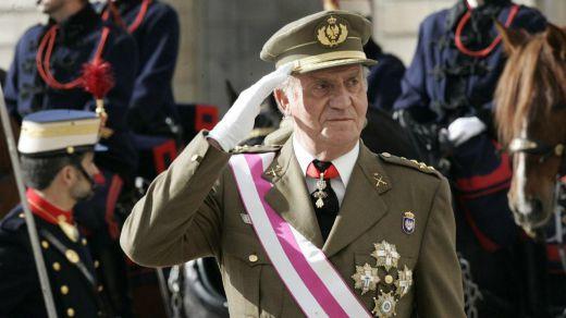 El rey emérito habría pactado no perder su título honorífico