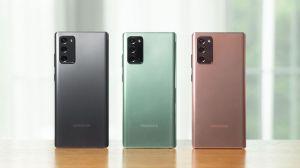 Samsung batalla contra la crisis presentando sus nuevos modelos Note20