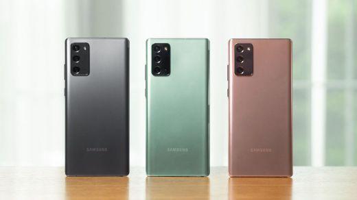 Note20, Samsung batalla contra la crisis con sus nuevos modelos