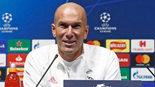 Zidane, sobre la ausencia de Bale: