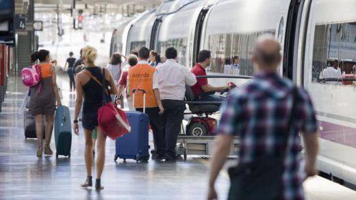 Un estudio calcula las probabilidades de contagiarse de coronavirus viajando en tren