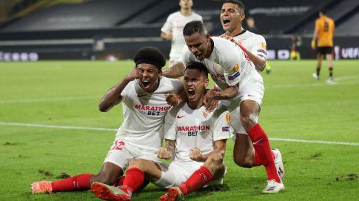El Sevilla de Lopetegui llega a las semifinales de la Europa League (1-0)