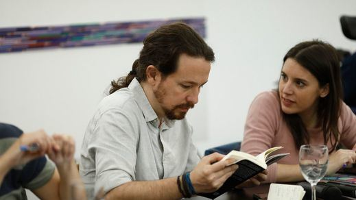 Pablo Iglesias e Irene Montero suspenden sus vacaciones en Asturias