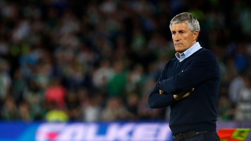 El Barça destituye a Quique Setién como entrenador