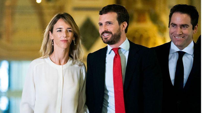 Cayetana Álvarez de Toledo, Pablo Casado y García Egea
