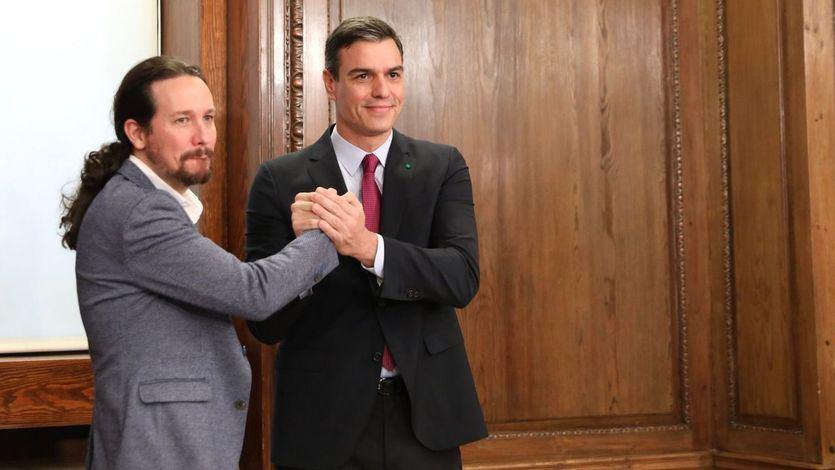 Sánchez apoya a Iglesias y Montero frente al acoso sufrido sin citar a la ultraderecha