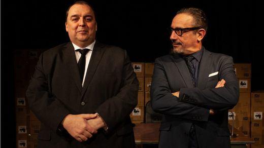 El prestigioso Martín Garrido Ramis se apoya en dos actorazos para contarnos en el Teatro Nueve Norte 'La venganza del señor Pellicer'