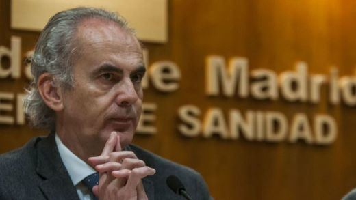 El consejero de Sanidad de Madrid descarta una 'vuelta al cole' 100% presencial si los contagios no bajan