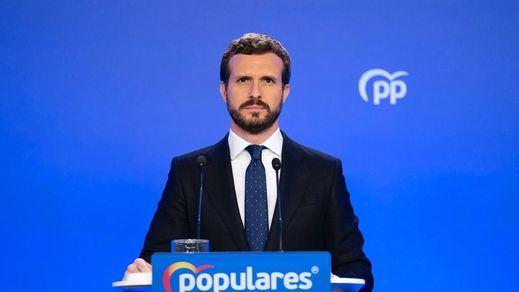 Pablo Casado rebaja las expectativas de un acercamiento al Gobierno tras el cese de Álvarez de Toledo, pero se aleja de las