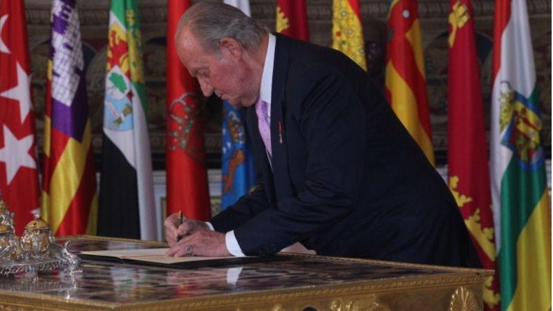 Revelan una carta del rey Juan Carlos con su versión sobre la transferencia de 76 millones a Corinna