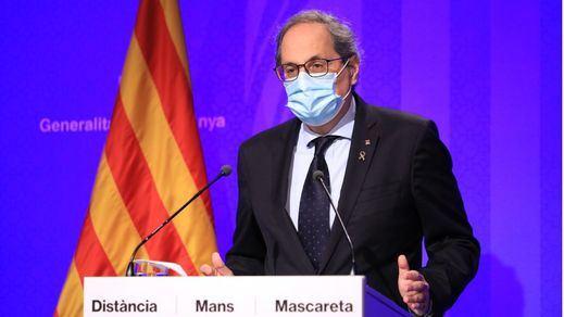 La Generalitat de Cataluña prohíbe las reuniones de más de 10 personas en espacios públicos o privados, rebaja la ratio en las aulas...
