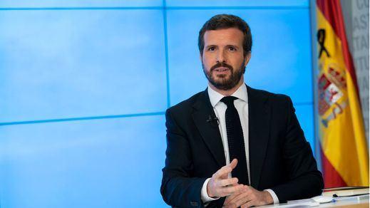 Casado acusa a Sánchez de dejación de funciones: