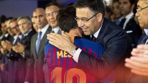 El Barça no está dispuesto a dejar marchar gratis a Messi que ya tiene los ojos puestos en el Manchester City