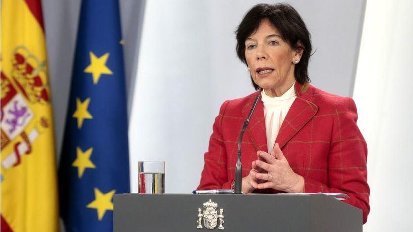 La ministra de Educación compara España con Alemania para argumentar que hay un exceso de alarmismo con la 'vuelta al cole'