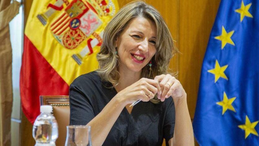 Yolanda Díaz confirma la continuidad del 'plan me cuida' y apunta a una prórroga de los ERTE