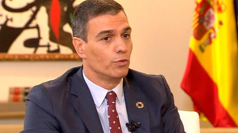 Pedro Sánchez entrevistado en La Sexta