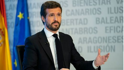 Casado exige a Sánchez que rompa con Podemos si quiere negociar los Presupuestos
