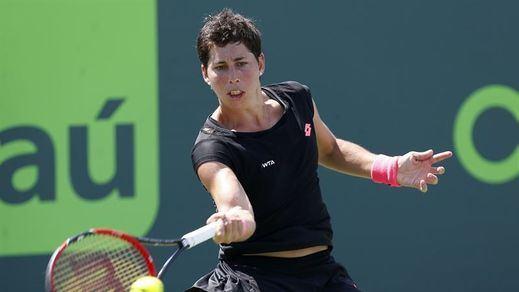 La tenista Carla Suárez revela que sufre linfoma de Hodgkin