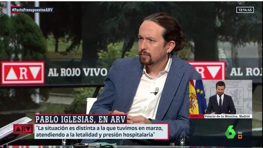 Iglesias corrige a Montero respecto a la baja laboral de los padres de niños en cuarentena