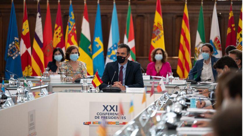 Sánchez en la XXI Conferencia de Presidentes