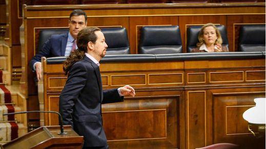 La fusión de Caixabank y Bankia provoca otro choque entre PSOE y Podemos