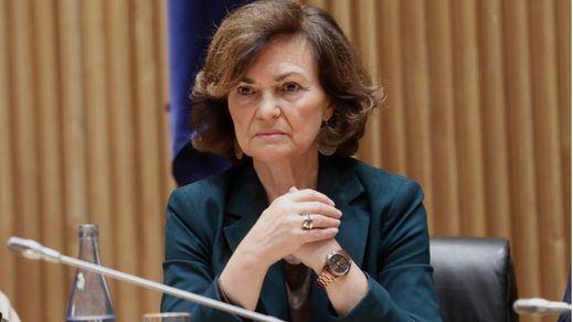 Carmen Calvo asegura ahora que da igual con quién aprobar los Presupuestos