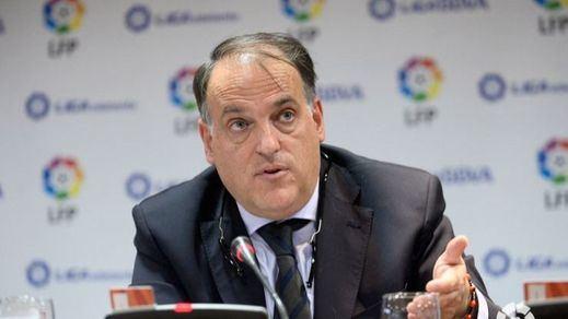 El Gobierno denuncia a Javier Tebas por el 'caso Fuenlabrada'