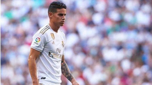 El Madrid cierra finalmente el traspaso de James al Everton por unos 25 millones