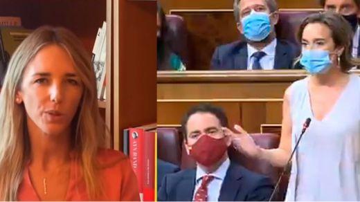 Gamarra debuta como portavoz parlamentaria mientras Álvarez de Toledo lo hace como 'youtuber' criticando al PP