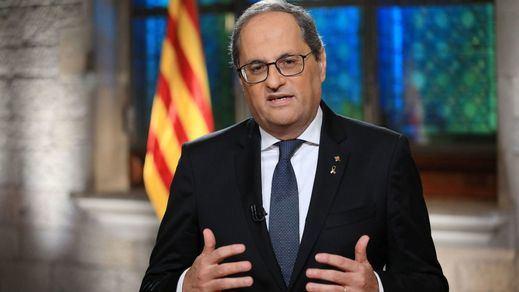 Diada de Cataluña: Torra exige al Gobierno un acto solemne de disculpa por el fusilamiento de Companys