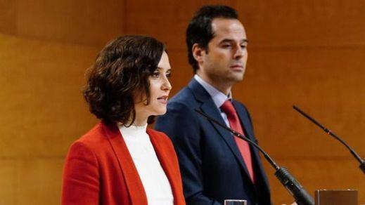 Una encuesta apunta a una victoria de Ayuso en Madrid con Ciudadanos clave para formar gobierno