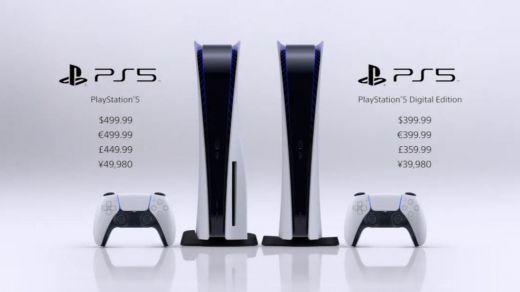 Ya es oficial: la PlayStation 5 costará entre 400 y 500 euros y llegará el 19 de noviembre