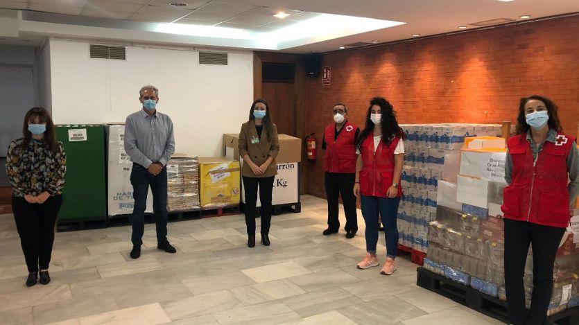 Donacion Cruz Roja El Alberche