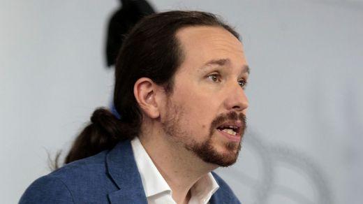 Iglesias reconoce que choca con Sánchez en el proyecto de subir los impuestos a las rentas altas
