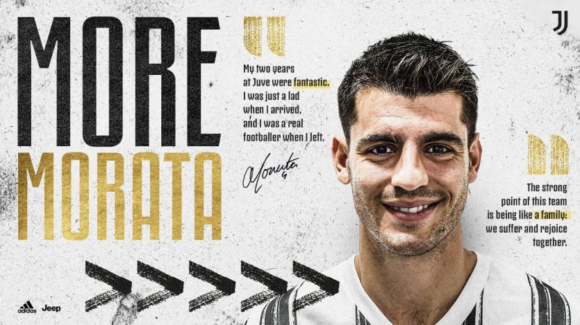 Morata ya es de la Juve: 10 millones por la cesión y opción de compra por 45