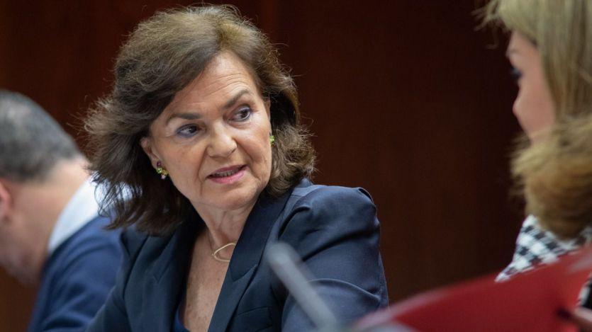 Calvo abronca al PP y recuerda que 'el Gobierno está obligado a tramitar todos los indultos'