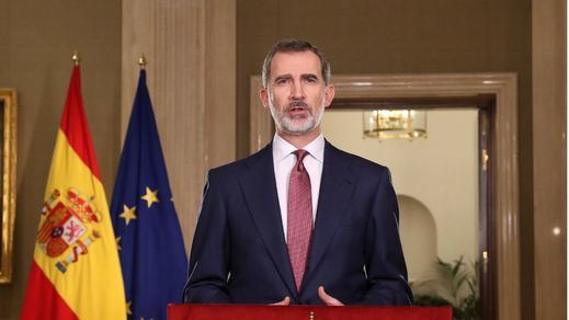 El Rey llama al presidente del Poder Judicial tras su ausencia en el acto de Barcelona